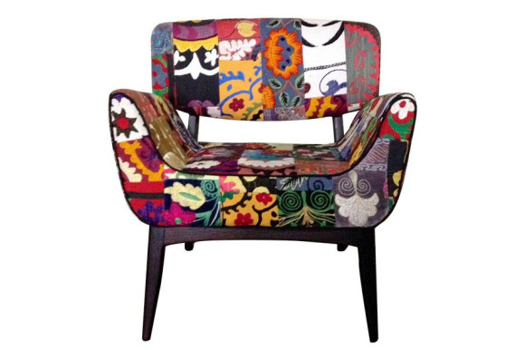 Vintage and Colorful Armchairs from Szalay Contemporary Design_2
