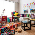 Vintage and Colorful Armchairs from Szalay Contemporary Design_4