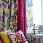 Window Treatment Ideas with Bright Curtains and Drapes from Bluebellgray_3