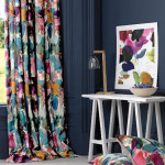 Window Treatment Ideas with Bright Curtains and Drapes from Bluebellgray_5