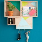 Colorful Wall Units For Storage and Wall Decor