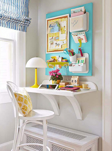 Colorful Wall Units For Effective Storage_1