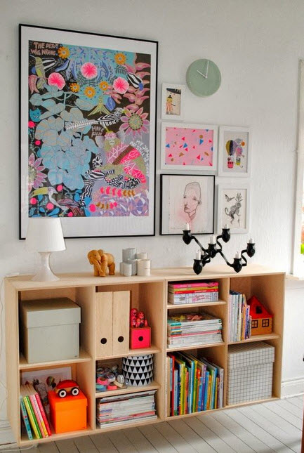 Colorful Wall Units For Effective Storage_8