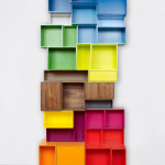 Colorful Wall Units For Storage and Wall Decor_14