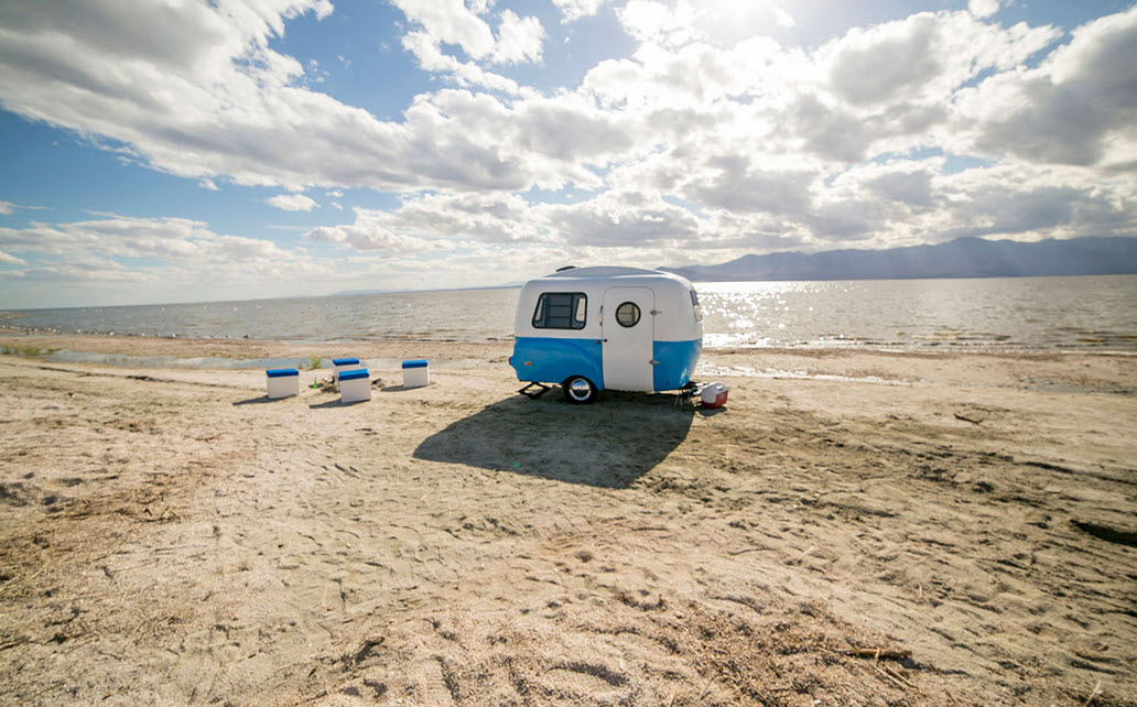 The HC1 Retro Ultra-Light Travel and Utility Trailer | In Seven ...