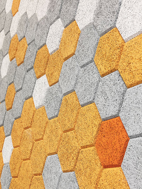 Unique Colorful Hexagonal Wall Tiles by Form Us With Love_1