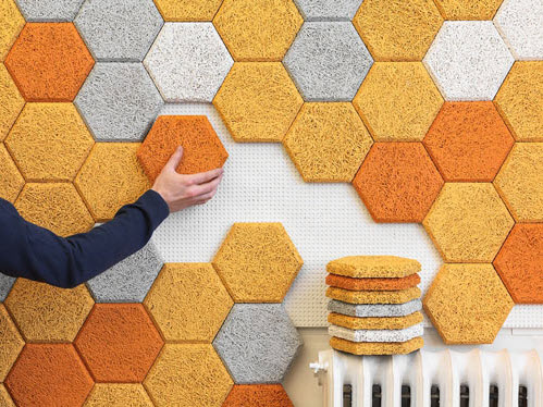 Unique Colorful Hexagonal Wall Tiles by Form Us With Love_2