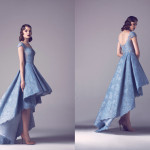 Vintage Colored Gowns From Fadwa Baalbaki Spring 2015 Couture Baby Blue
