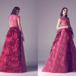 Vintage Colored Gowns From Fadwa Baalbaki Spring 2015 Couture Pink_2