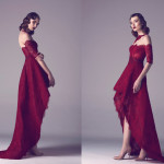 Vintage Colored Gowns From Fadwa Baalbaki Spring 2015 Couture Red_1