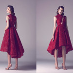 Vintage Colored Gowns From Fadwa Baalbaki Spring 2015 Couture Red_2