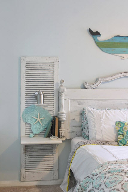 Bedroom with Shabby-Chic Style_10