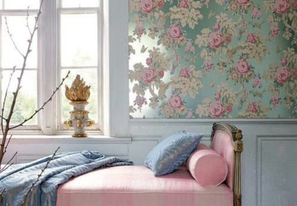 Bedroom with Shabby-Chic Style_4
