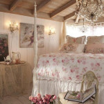 Bedroom with Shabby-Chic Style_9