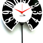 Colorful Pendulum Wall Clocks