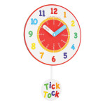 Colorful Pendulum Wall Clocks_2