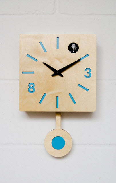 Cuckoo Wall Clocks with Pendulum from Etsy