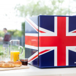 Husky Mini Countertop Fridge Union Flag