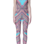 Mara Hoffman Activewear with Vivid Pattern and Color