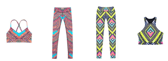 Mara Hoffman Activewear with Vivid Pattern and Color_6