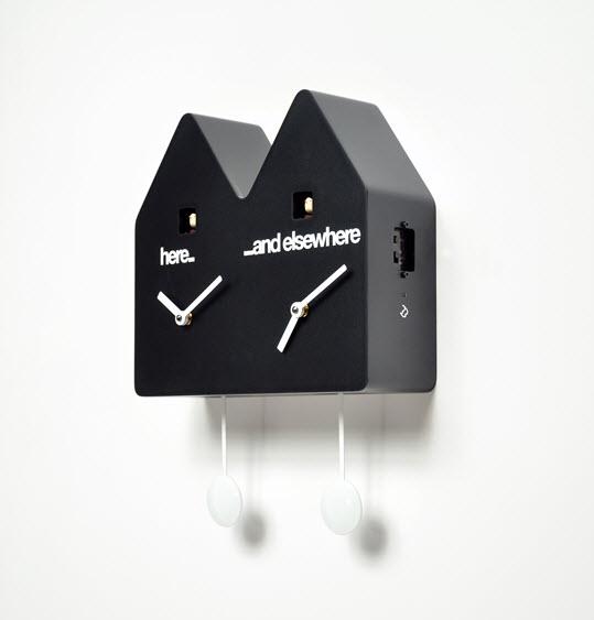 Minimalist Cuckoo Wall Clocks with Pendulum_3