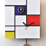 Minimalist Cuckoo Wall Clocks with Pendulum_9