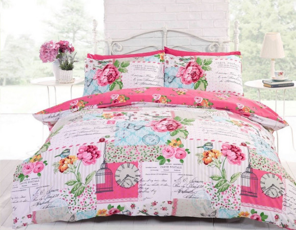 Pastel Colored Shabby Chic Bedding