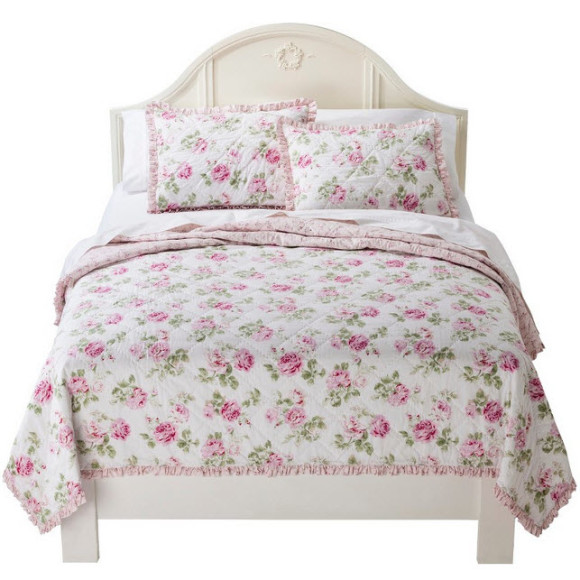 Pastel Colored Shabby Chic Bedding from Target_2