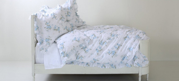 Pastel Colored Shabby Chic Bedding from shabbychic.com