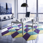 Colorful Modular Carpet Tiles from FLOR_11