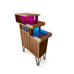 Penthouse Cabinet with Vibrant Lighting System