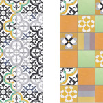 Bright Patchwork Tiles by Purpura_1