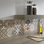 Colorful Patchwork Tiles From Walls and Floors