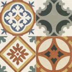 Colorful Patchwork Tiles From Walls and Floors_1