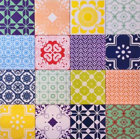 Colorful Patchwork Tiles from ArtTiles_3