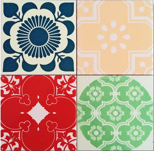 Colorful Patchwork Tiles from ArtTiles_4