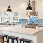Colorful Patchwork Tiles from Pacific Collection by Cement Tile Shop