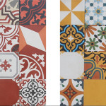 Colorful Patchwork Tiles from Pacific Collection by Cement Tile Shop_2