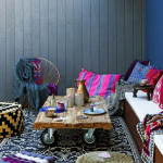 Bold Color Bohemian Home Decor Ideas