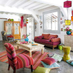 Colorful Boho Home Decor Ideas_15