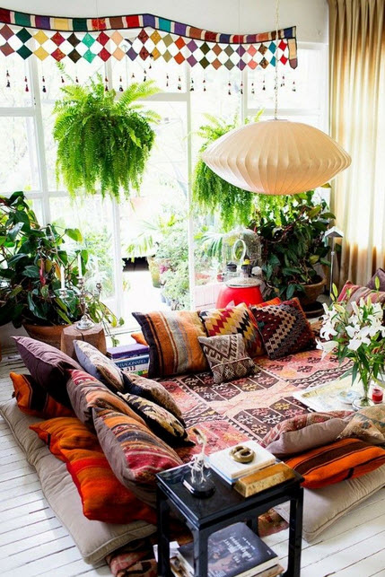 Colorful Boho Home Decor Ideas_2