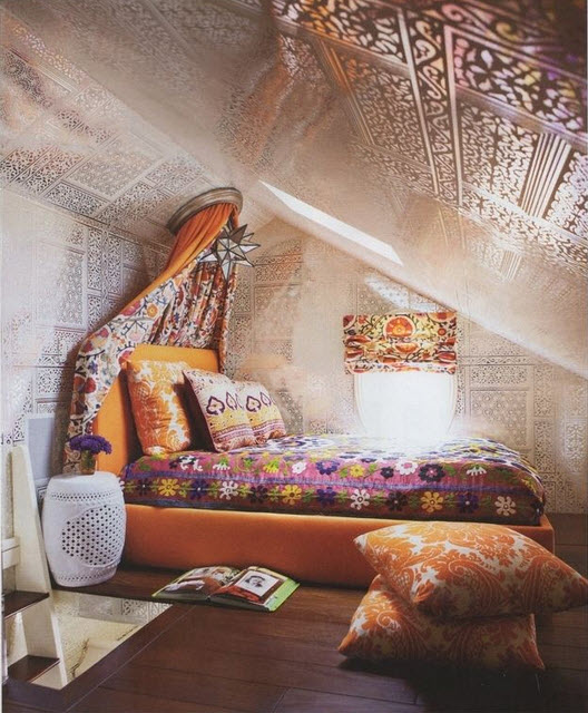 Colorful Boho Home Decor Ideas_4