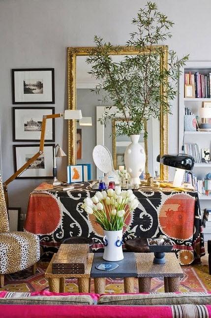Colorful Boho Home Decor Ideas_7