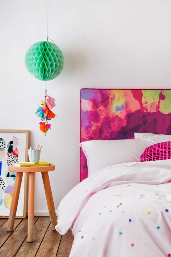Watercolor Vibrant Bedheads by Mexsii