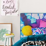 Watercolor Vibrant Bedheads by Mexsii_1