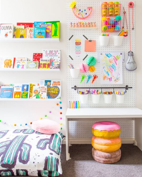 Pegboard Ideas | In Seven Colors - Colorful Designs Pictures and ...