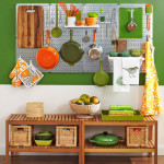 Practical, Creative, Decorative Pegboard Ideas for Kitchen
