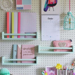 Practical, Creative, Decorative Pegboard Ideas for Workspace