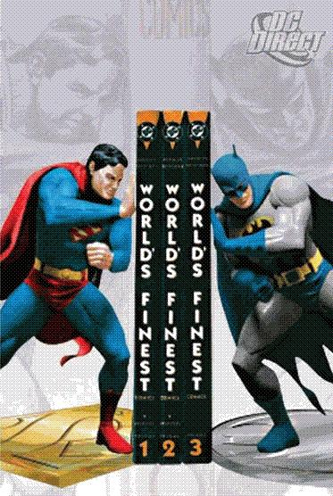 Cool Superman Batman Bookends Combination