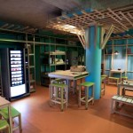 Colorful and Eco Friendly Hotel in Paris France: HI MATIC